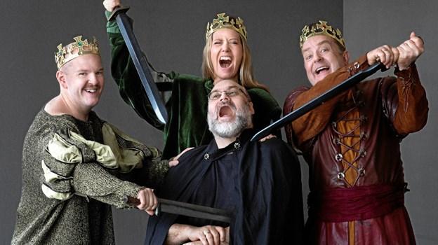 """Klassikeren """"Svend, Knud og Valdemar"""" krydres i Arden med sangnumre fra opera, operette og musical. PR-foto"""