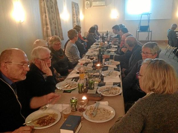 Generalforsamlingen samlede 50 deltagere. Privatfoto