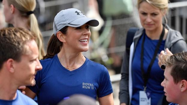 Kronprinsessen er populær - også når det gælder løb - alle billetter til Royal Run er revet væk. Foto: Lars Møller/Royal Run