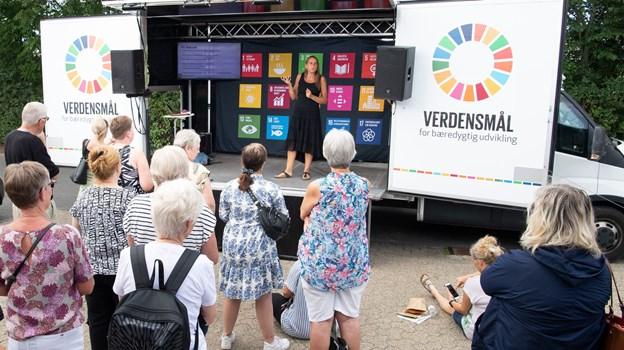 I skal blandt andet arbejde med de fem grundsmage, sagde Anne Hjernøe, der også havde en miljøbevist teenager, som hun gerne ville låne ud. Peter Broen