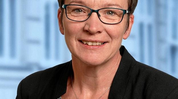 Formand for børne- og familieudvalget i Vesthimmerland, Inger Nielsen, glæder sig over et markant fald i langtidsfraværet blandt kommunens folkeskoleelever. Arkivfoto