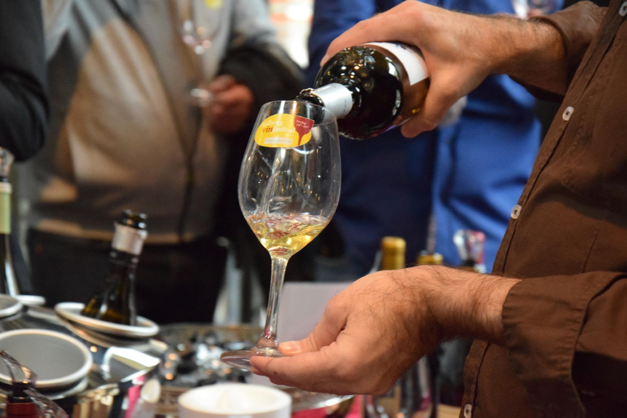 Det er blot en god måneds tid siden, der sidst var vinfestival - nu er arrangørerne klar med en ny dato. PR-foto