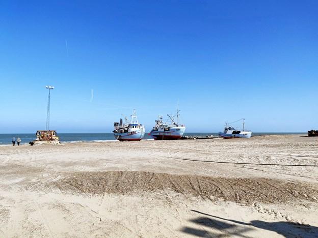 Den første målby er Thorup Strand. Privatfoto