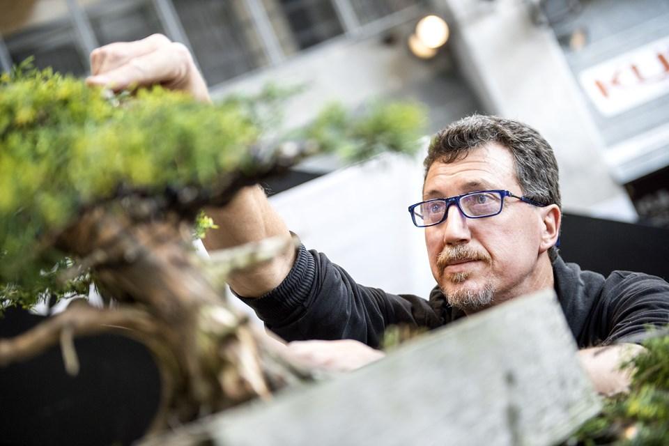Du kan se og høre, hvordan man skaber de små grønne kunstværker i Nordkraft i dag. Arkivfoto: Daniel Bygballe