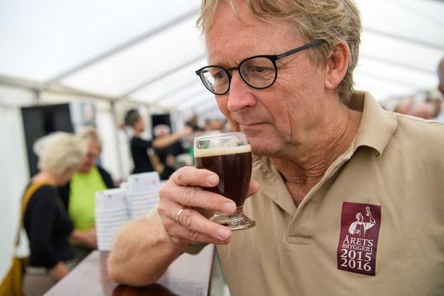 For den lokale brygmester Anthony Aagaard Madsen var arrangementet endnu et bevis på, at godt specialøl ikke går af mode.