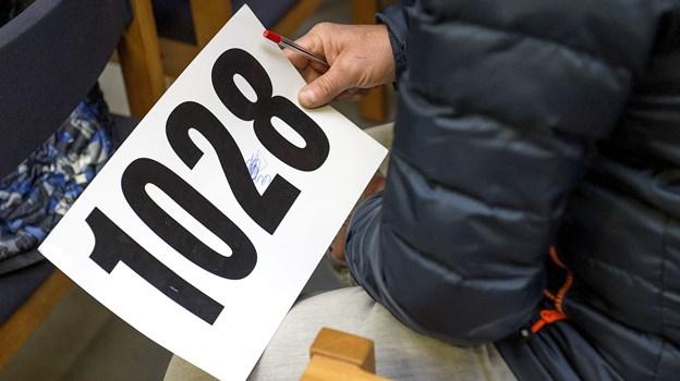 Lørdag er der auktion over såkaldt udsat bohave for Nordjyllands Politi.Arkivfoto: Lars Pauli