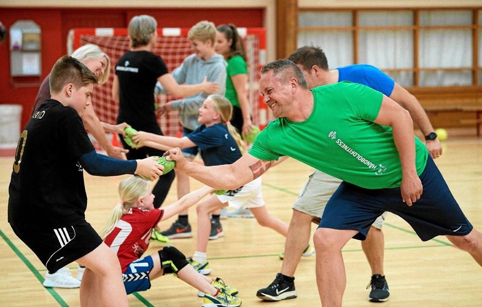 Håndboldens Dag markeres på lørdag med aktivitetsdag for hele familien. I Thy er det i hallerne i Nors, Snedsted og Thisted.Foto: Jan Christensen