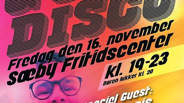 Sæby Floorball Klub og Sæby Fritidscenters officielle plakat. Foto: Tommy Thomsen