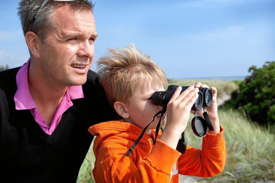 Fædre har gratis adgang til Lille Vildmosecentret på fars dag 5. juni.