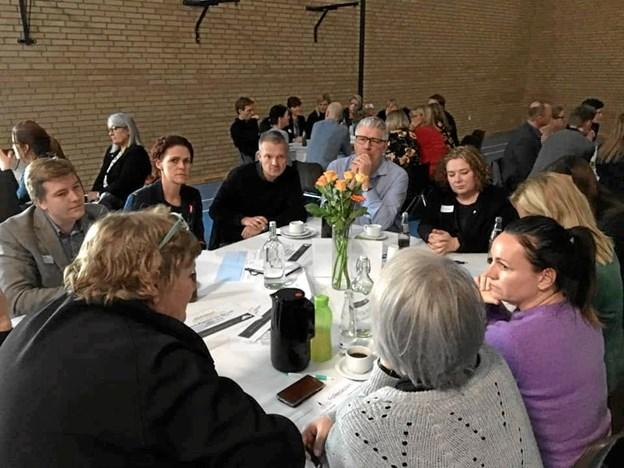 Det handler om at komme til orde - og det kan man også få chancen for i Fjerritslev, når kommunen byder indenfor til debatmøde. Privatfoto