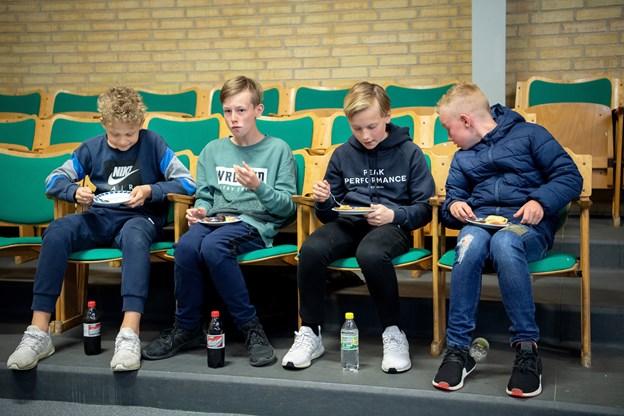 Ungdommen var også klar. Foto: Lars Pauli © Lars Pauli