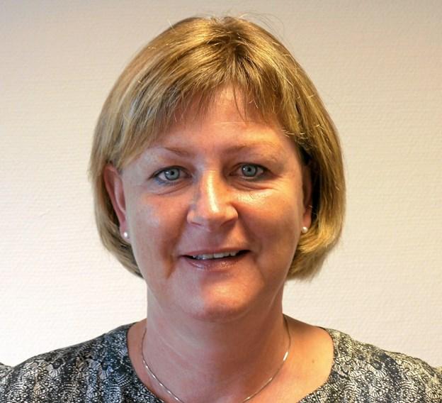 Back office chef Dorte Berg Larsen har været ansat 40 år i Dronninglund Sparekasse. Foto: Privatfoto
