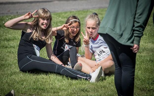 Billeder fra Skole OL på Bymarkskolen i Hobro. Foto: Martin Damgård