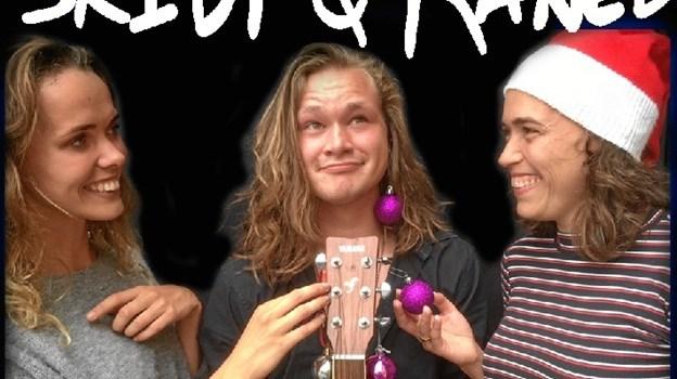 """Gruppen """"Skidt og Kanel"""" synger masser af julesange fra de mange populære tv-julekalendere. Privatfoto."""