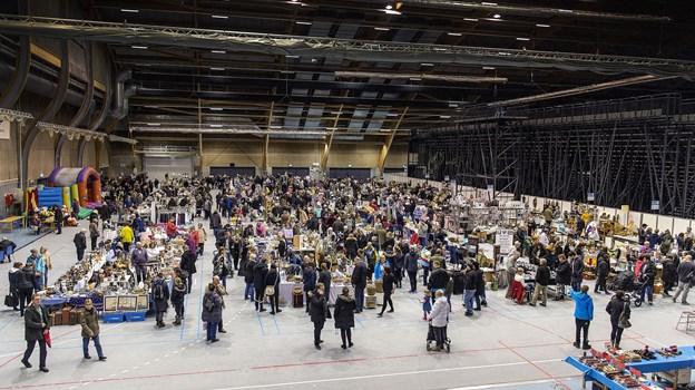 Det er 7. gang, loppemarkedet finder sted i Gigantium. Arkivfoto: Torben Hansen
