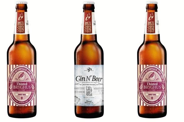 Tre nye øl fra Thisted Bryghus. Privatfoto
