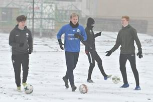 Fodbold - set fra egen tagterrasse: Morsø FC glæder sig over nye lokaler
