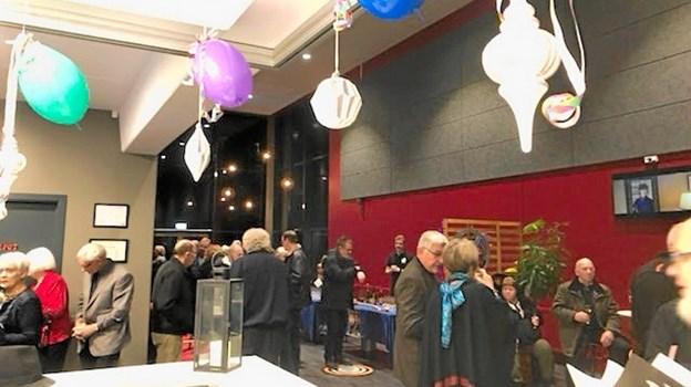 I alt 256 glade gæster indfandt sig lørdag og søndag i Løgstør Bio for at opleve Andre Rieus nytårskoncert, transmitteret fra Sydney. Privatfoto