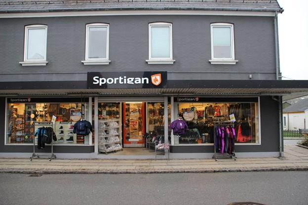 Sportigan i Hurup var klar. Foto: Hans B. Henriksen