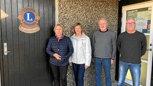 Lions Cares julelotteri støtter trængte familier.Privatfoto