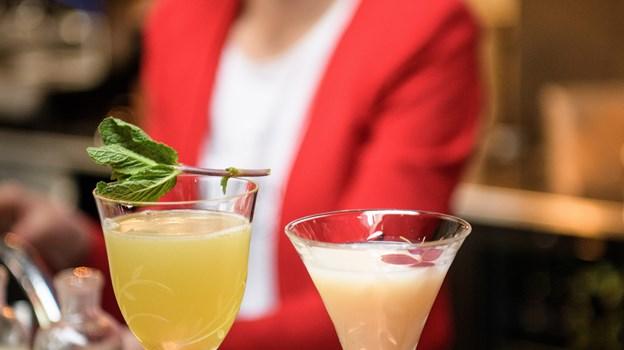 It wish it was summer og No Snow hedder disse velsmagende cocktails. Peter Broen