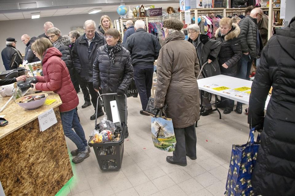 En ny Guld & Rod åbnede torsdag i Brønderslev, og interessen var stor. Foto: Kurt Bering