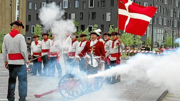 Kanonlauget er kendt for de traditionelle uniformer. Arkivfoto