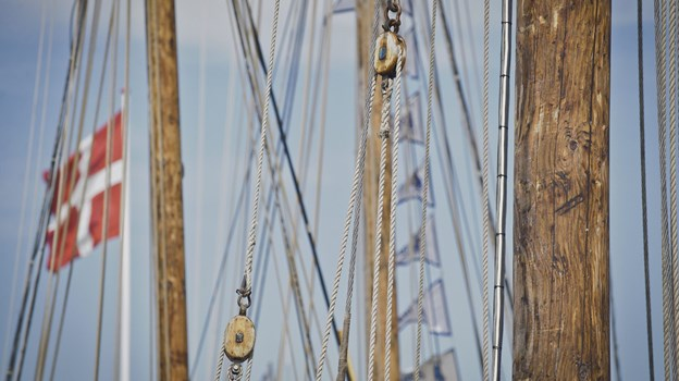 Er du ikke til vild vandleg, så er der også masser af maritim stemning at komme efter. Arkivfoto: Martin Damgård
