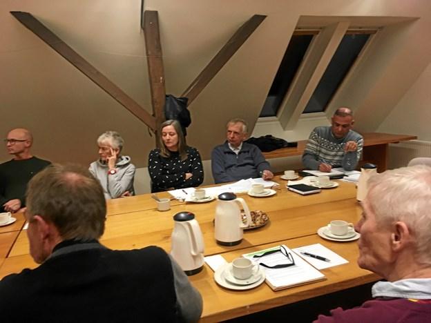 Mindre snak - mere handling, men man slipper nu ikke helt udenom møder.  Foto: Energibyen Frederikshavn