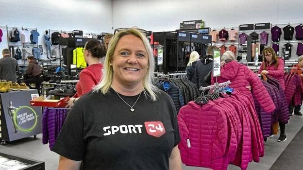 Mona Bjerregaard fra Nykøbing, er den nye daglige leder. Foto: Ole Iversen Ole Iversen