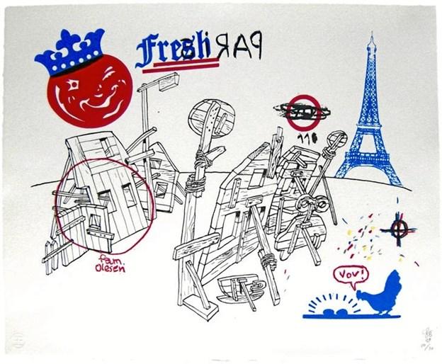 Illustration: Søren Behncke, Paris 2008.