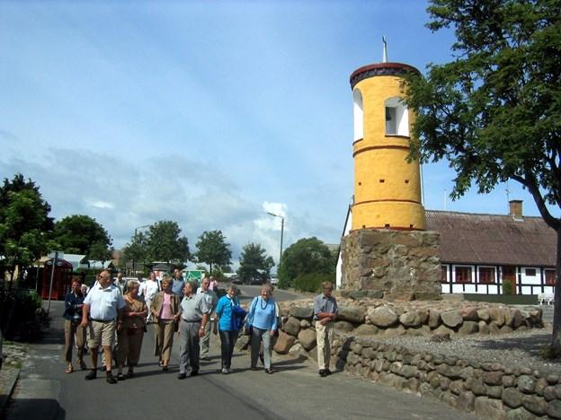 Turen går blandt andet til Samsø. Arkivfoto