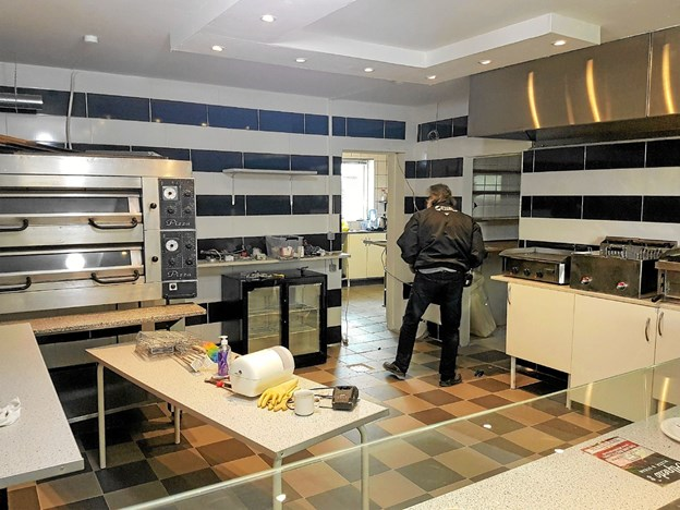 Næsten alt i køkkenet er nyt. Foto: Karl Erik Hansen Karl Erik Hansen