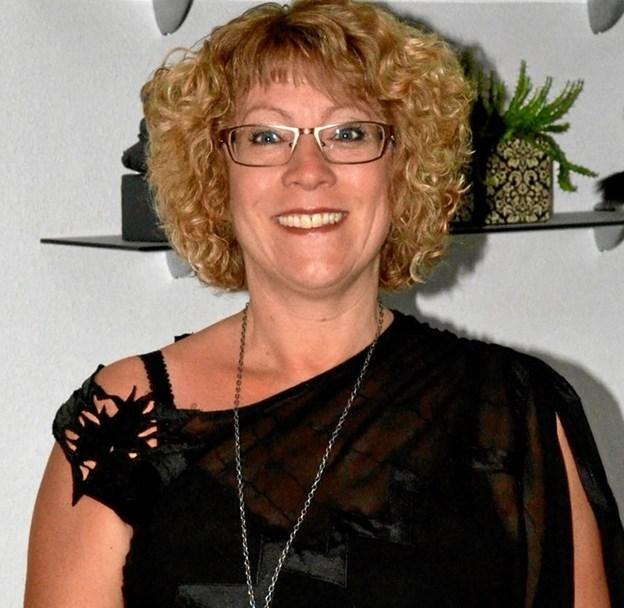 Gitte Barslund har i alle sine 40 år hos kommunen arbejdet på Hobro Alderdomshjem.Privatfoto