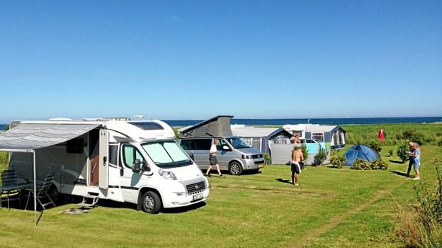 Hals Strand Camping er blevet fire-stjernet. Foto: Hals Strand Camping Allan Mortensen