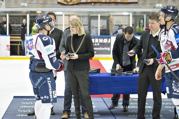Borgmester Birgit S. Hansen vil også være til stede og heppet på det lokale hold.  Arkivfoto: Kurt Bering