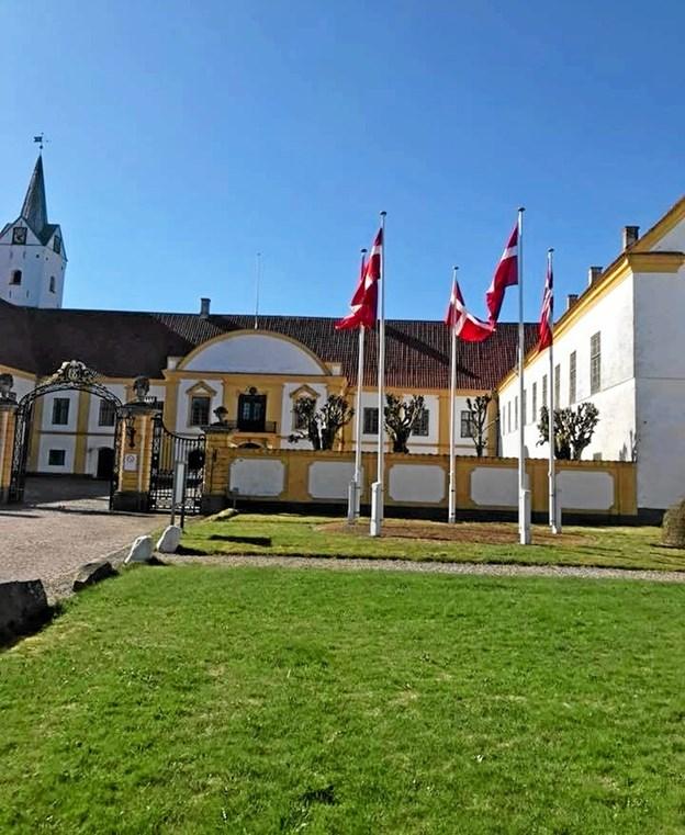 På Dronninglund Slot er der flere forskellige muligheder for rammer for f.eks. foredrag - både hvad angår plads og god lydhørhed. Foto: Ole Torp Ole Torp