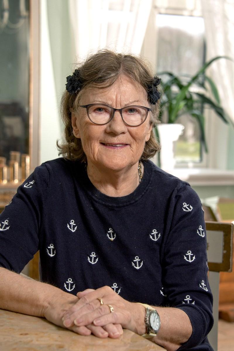 Margit Hansen i Volstrup fylder i dag 80 år. Foto: Henrik Louis HENRIK LOUIS