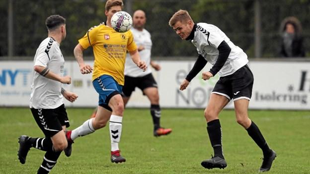 Med sejren fører VHG/GS puljen med 19 point på kontoen. Foto: Allan Mortensen Allan Mortensen