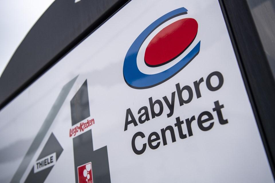 Aabybro Centret fylder 45 år, og det skal fejres. Arkivfoto