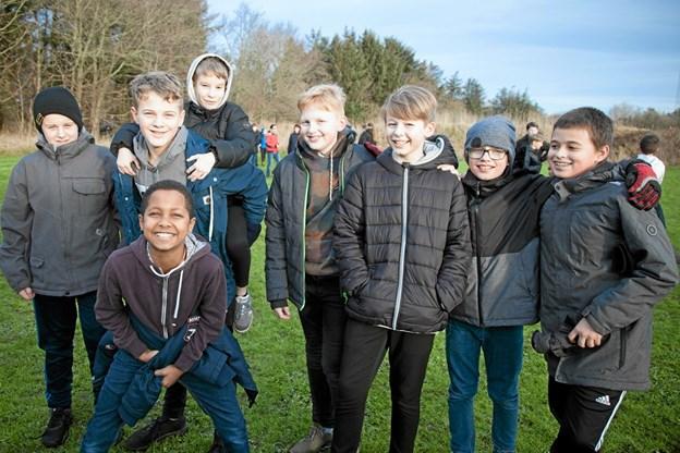 Masser af frisk luft, motion og bevægelse er opskriften på glade skoleelever. Foto: Peter Jørgensen Peter Jørgensen
