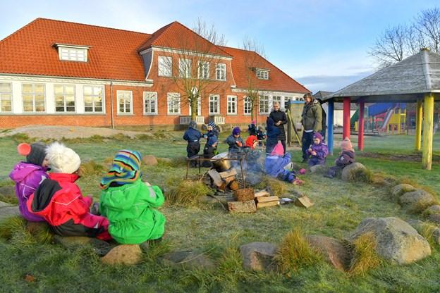 Den nye børnehave i Veddum, Kirsebærhaven, holder åbent hus for alle interesserede fredag 1. februar. Foto: Jesper Thomasen.