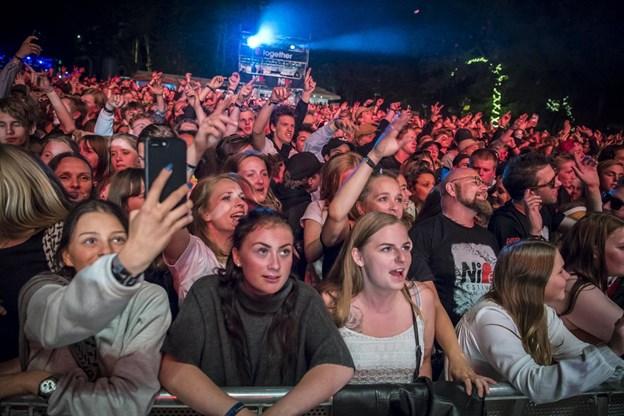 Der er endnu en gang lagt op til fest i Skalskoven. Arkivfoto: Martin Damgård