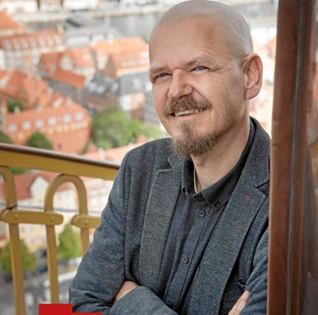 Kim Leine - varmer 16. januar op til Ordkraft ved et arrangement på Aars Bibliotek. PR-foto