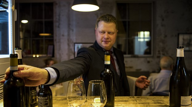 La Locandas restaurantchef Thomas Jørgensen. Foto: Teis Markfoged Foto: Teis Markfoged