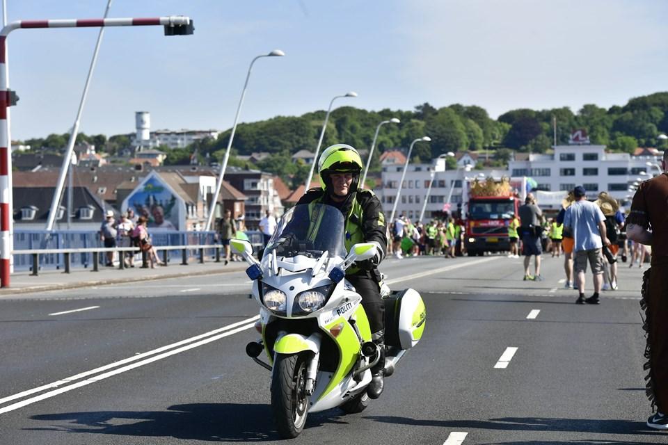 Hold festen på land, lyder det fra Nordjyllands Politi. Foto: Bo Amstrup/Ritzau Scanpix