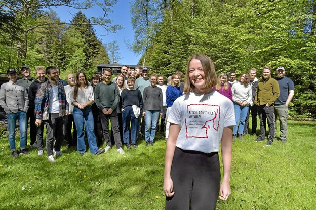Kom med på holdet som hjælper - vi har brug for dig, lyder opfordringen fra frivilligansvarlig Mille Møller Nielsen. Foto: Ole Iversen