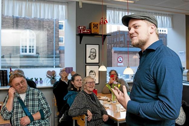 Forfatter Anders Fuglsang. Foto: Lasse Sand