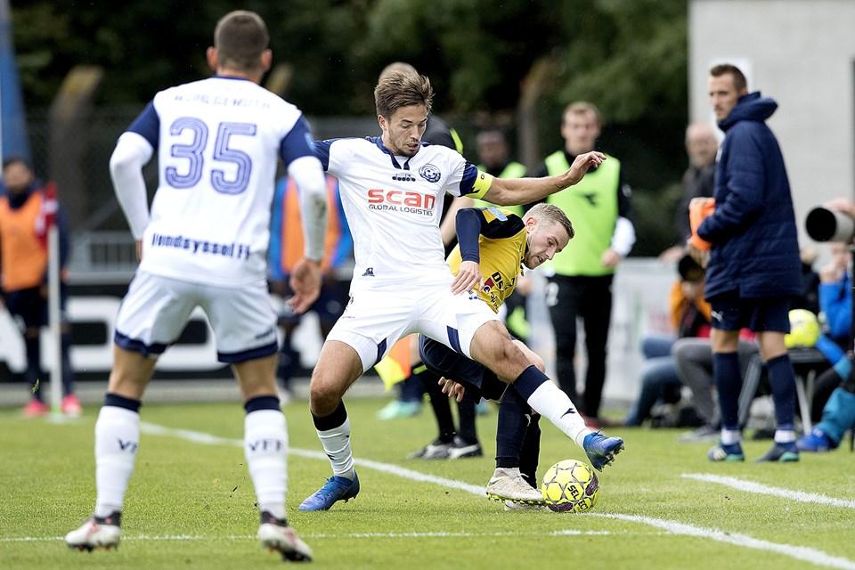 Foto Lars PauliHjørring stadionVendsyssel FF - Hobro IK
