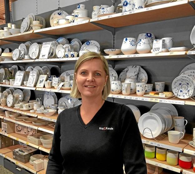 Anne-Mette Munk Nielsen står i dag i spidsen for Kop & Kande Skagen, hvor hun startede som elev for 20 år siden.Privatfotos